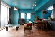 「色壁」で魅せる部屋!築浅ローコストリノベ